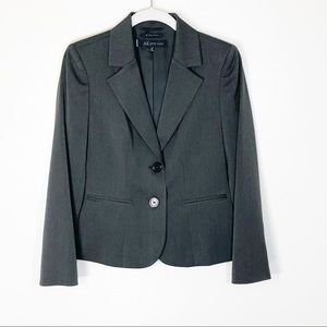 Anne Klein blazer grey stretch